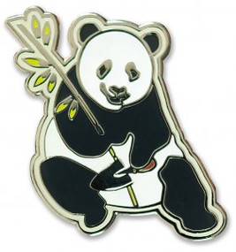 Panda Hard Enamel Pin by , 9781441325341