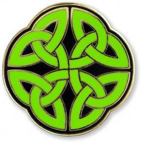 Celtic Knot Hard Enamel Pin by , 9781441327208