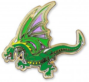 Dragon Hard Enamel Pin by , 9781441327215