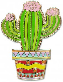 Cactus Hard Enamel Pin by , 9781441325044