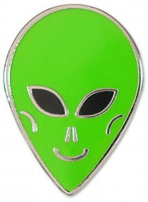 Alien Hard Enamel Pin by , 9781441324993