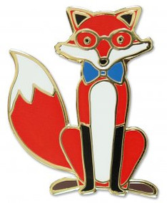 Fox Hard Enamel Pin by , 9781441325129