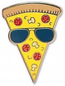 Pizza Hard Enamel Pin by , 9781441325365