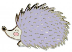Hedgehog Hard Enamel Pin by , 9781441325181