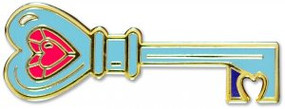 Key Hard Enamel Pin by , 9781441325266