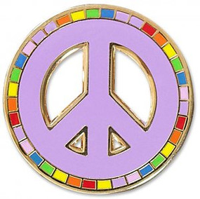 Peace Hard Enamel Pin by , 9781441325358