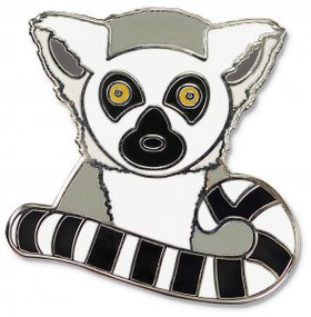 Lemur Hard Enamel Pin by , 9781441329592