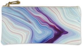 Blue Agate Pencil Pouch, 9781441327598