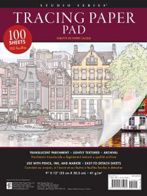 Studio Series Tracing Paper Pad (100 high-quality sheets) by , 9781441335081