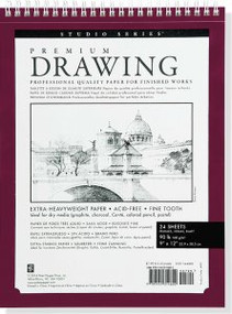 """Large Premium Drawing Pad  9"""" X 12"""" by , 9781441314802"""