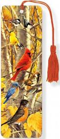 Autumn Birds 3-D Bookmark by , 9781441313966