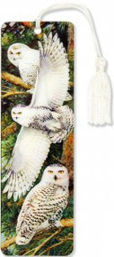 Snowy Owl 3-D Bookmark by , 9781441316813