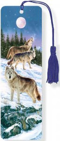 Wolves 3-D Bookmark by , 9781441313959