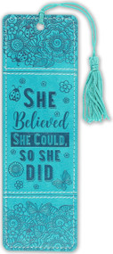 She Believed She Could Artisan Bookmark, 9781441331021