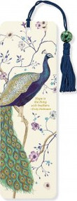 Peacock Beaded Bookmark by , 9781441320148