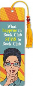 Book Club Beaded Bookmark by , 9781441331328