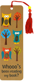 Owls Beaded Bookmark, 9781593593261