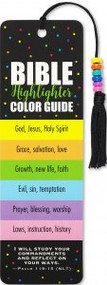 Bible Color Code Beaded Bookmark by , 9781441330932