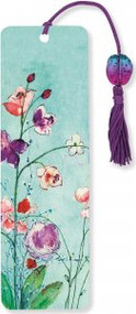 Fuchsia Blooms Beaded Bookmark by , 9781441315656