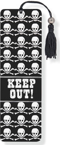 Keep Out! Beaded Bookmark, 9781593593025