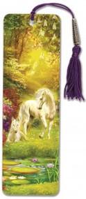 Unicorn Beaded Bookmark by , 9781441330475