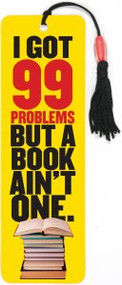 98 Problems Beaded Bookmark by , 9781441320834