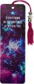 Galaxy Beaded Bookmark by , 9781441331083