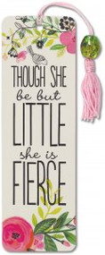 And Though She Be But Little Beaded Bookmark by , 9781441324320