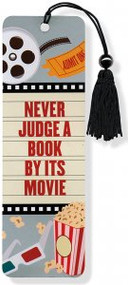 Never Judge A Book By Its Movie Beaded Bookmark by , 9781441312501