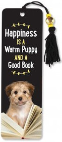 Happiness is a Warm Puppy Beaded Bookmark by , 9781441327680