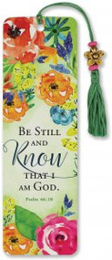 Be Still & Know That I Am God Beaded Bookmark by , 9781441328878