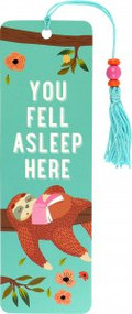 You Fell Asleep Here Beaded Bookmark by , 9781441334381