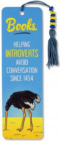 Introvert Beaded Bookmark by , 9781441328144