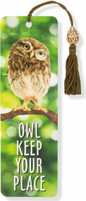Owl Keep Your Place Beaded Bookmark by , 9781441319982