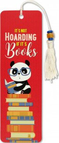 It's Not Hoarding Beaded Bookmark by , 9781441331205