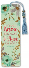 For I Know the Plans I Have for You Beaded Bookmark by , 9781441328885