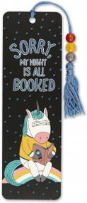 Sorry, My Night Is All Booked Beaded Bookmark by , 9781441329141