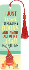 Just Want to Read Beaded Bookmark by , 9781441334527