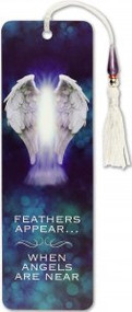 Feathers Appear When Angels Are Near Beaded Bookmark by , 9781441331816