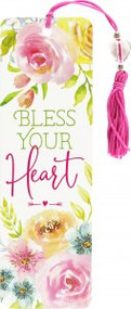 Bless Your Heart Beaded Bookmark by , 9781441334794