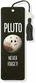 Pluto - Never Forget! Beaded Bookmark by , 9781441322791