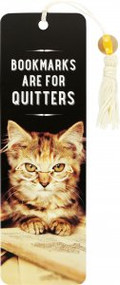 Bookmarks are for Quitters Beaded Bookmark by , 9781441336071