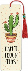 Can't Touch This Beaded Bookmark by , 9781441331199