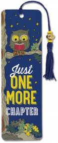 Just One More Chapter Beaded Bookmark by , 9781441324313