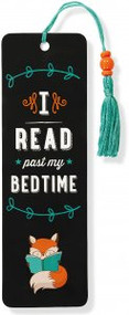 I Read Past My Bedtime Beaded Bookmark by , 9781441322593
