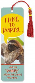 I Like to Party Beaded Bookmark by , 9781441325792