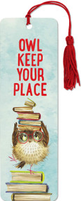 Owl Keep Your Place Children's Bookmark, 9781441331236