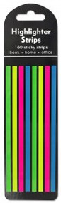 Highlighter Strips Stickers (160 strips) by , 9781441329097