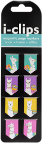 Llamas i-clips Magnetic Page Markers, 9781441332103