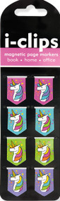 Unicorns i-clips Magnetic Page Markers, 9781441324429